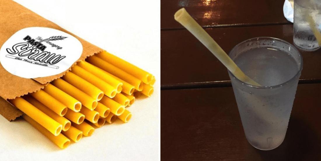 Un resto italien a banni les pailles en plastique