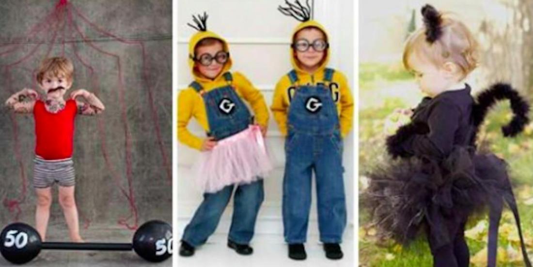 15 idées de déguisements d'Halloween à faire soi-même pour les enfants!