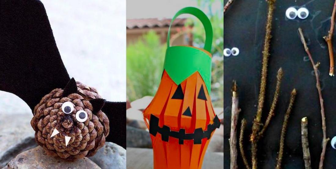 13  bricolages d'Halloween sans dégâts à faire avec les enfants