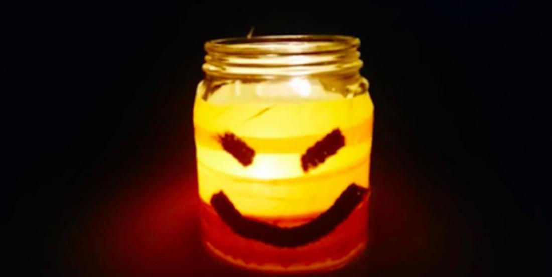 13 décorations pour Halloween, à faire avec des pots en verre!