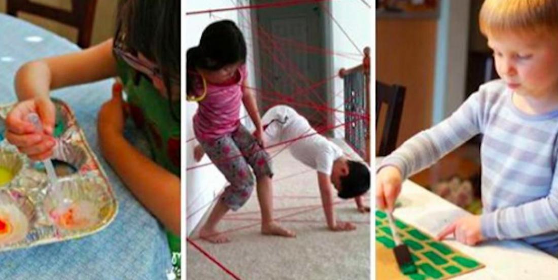 9 jeux intérieurs à fabriquer pour amuser les enfants par mauvais temps!