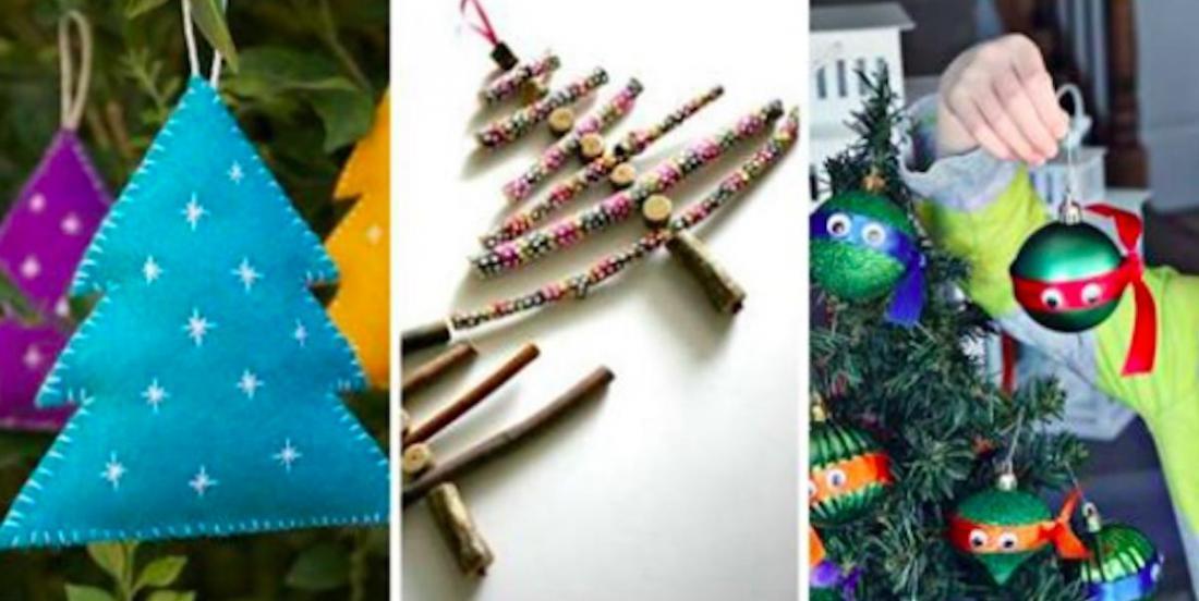 20 décorations pour le sapin de Noël à fabriquer soi-même