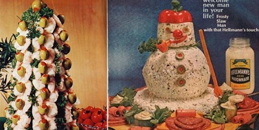 13 recettes de Noël hautement décoratives issues d'une autre époque!