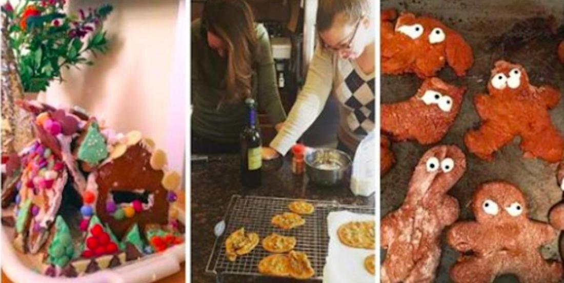 25 photos qui montrent qu'on ne peut pas toujours obtenir des résultats dignes de Pinterest quand on cuisine pour Noël!
