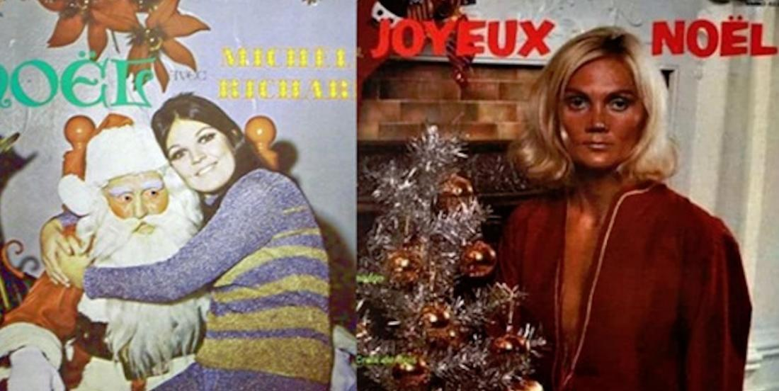 Top 12 des pires pochettes de disques de Noël!