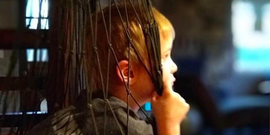 Des balançoires sensorielles pour apaiser les enfants à besoins particuliers