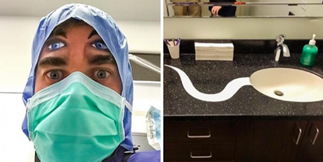 15 médecins et dentistes qui ont un grand sens de l'humour