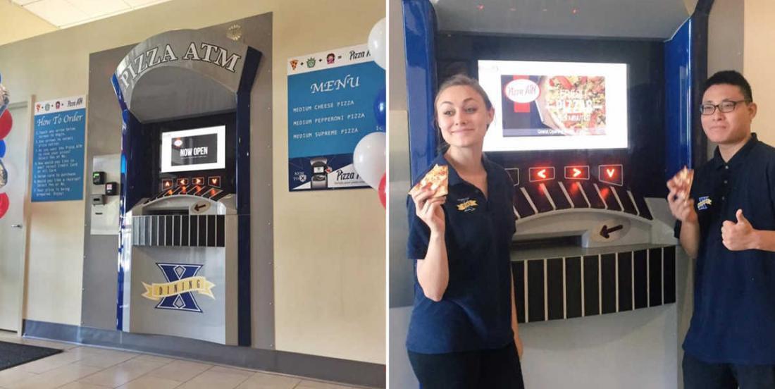 Des universités américaines installent des guichets à pizzas dans leurs enceintes