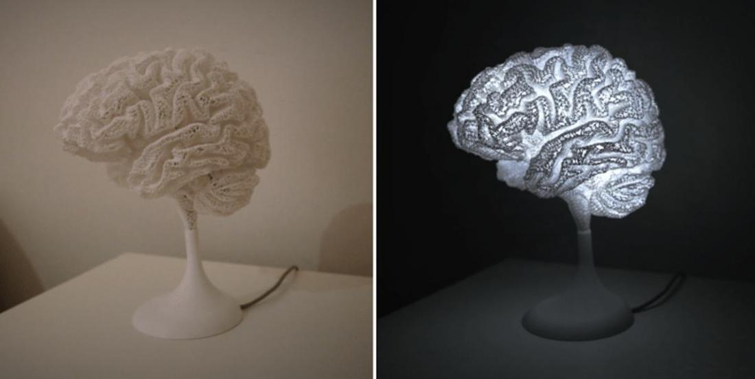Cet homme a fabriqué une lampe à partir de… son cerveau!