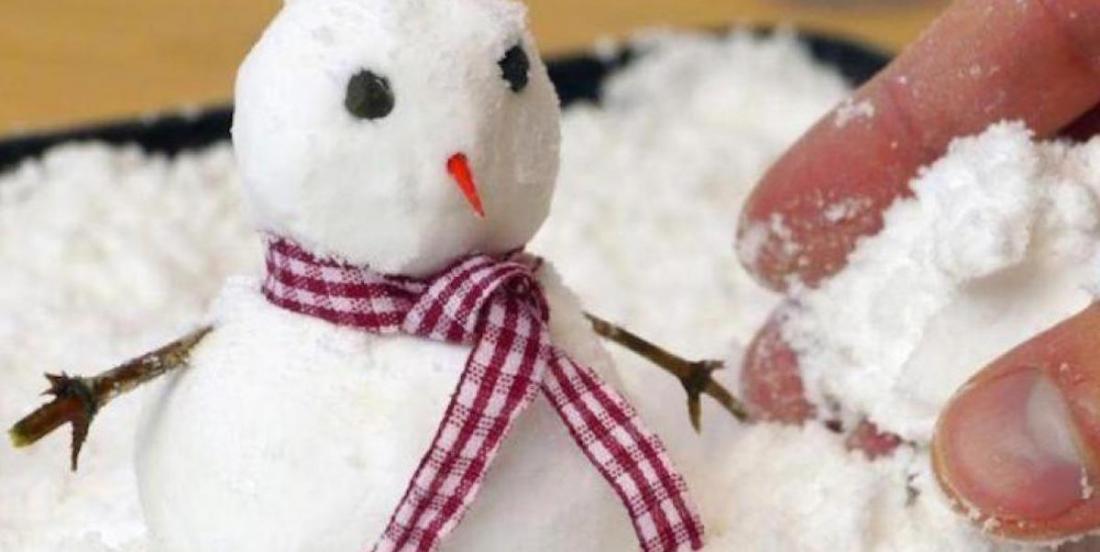 Comment fabriquer de la fausse neige