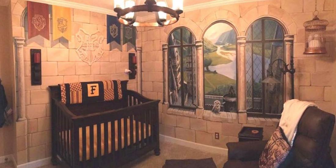 Ces parents ont créé une chambre Harry Potter pour leur bébé