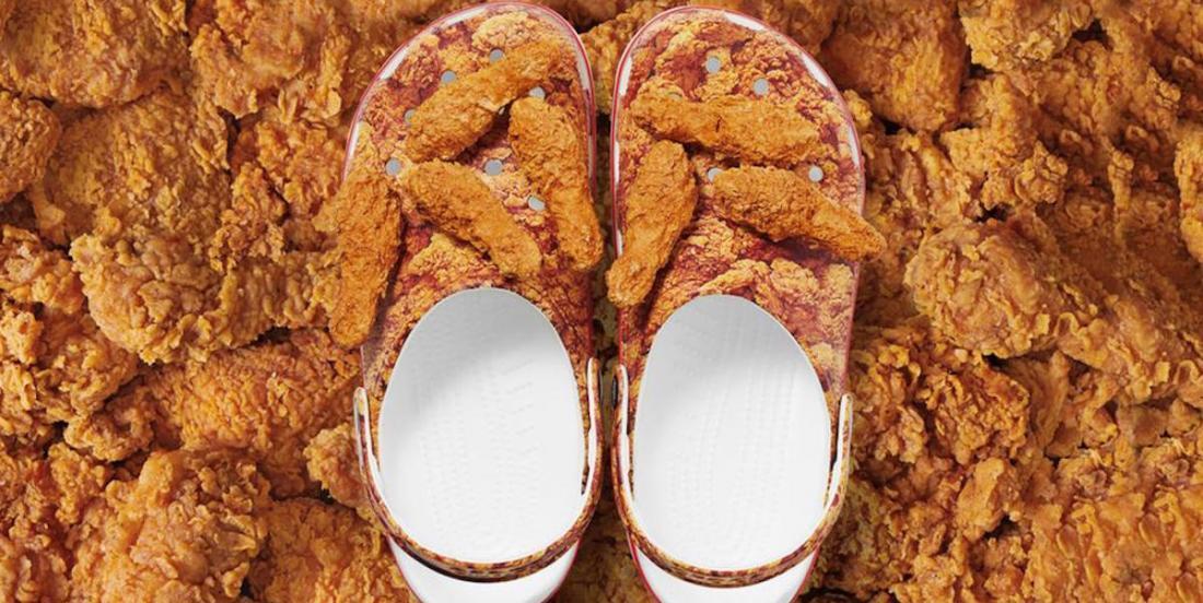 Croc frappe fort encore une fois, avec des chaussures PFK!