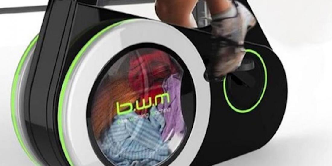 Le vélo qui fait la lessive: une innovation écologique et économique?