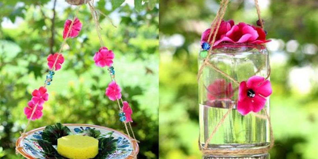 Voici comment fabriquer une mangeoire à papillons (2 modèles)