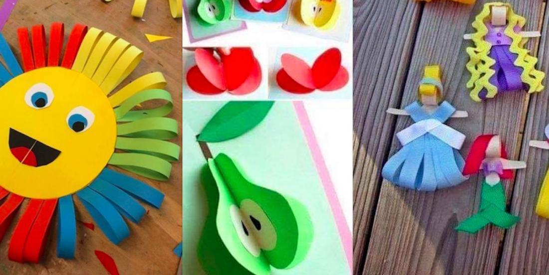 25 bricolages colorés qu'on peut créer avec un peu de papier