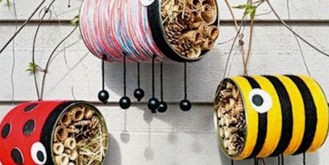 14 bricolages à réaliser avec des boites de conserve