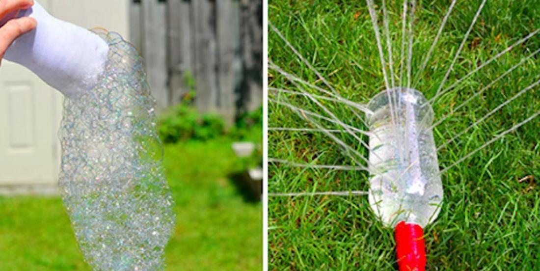 15 manières de récupérer les bouteilles de plastique