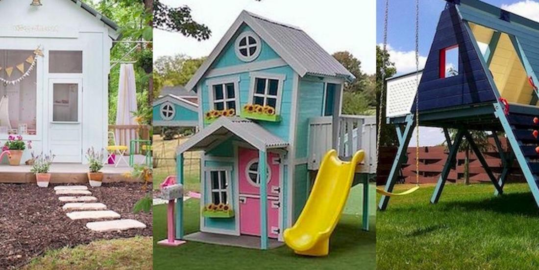 35 merveilleuses cabanes de jardin pour les enfants