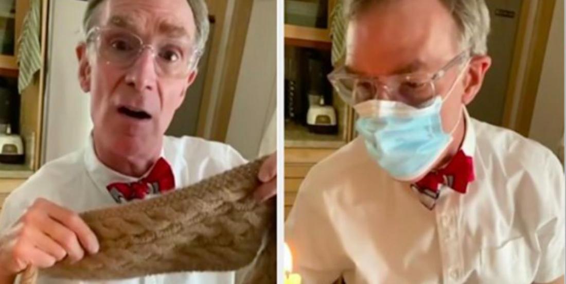 Coronavirus: L'expérience de ce scientifique au sujet des masques devient rapidement virale sur  TikTok