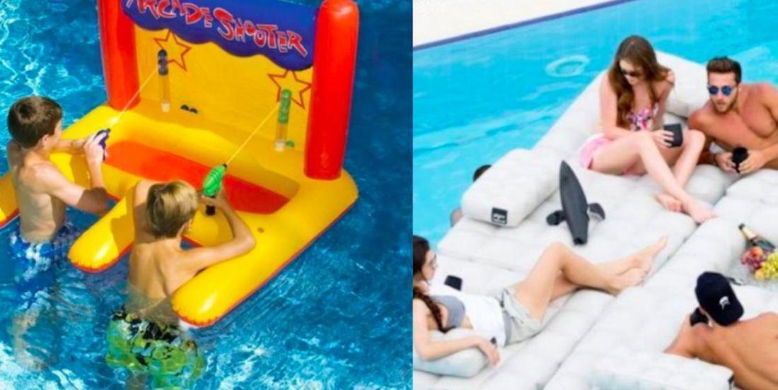 30 accessoires de piscine qui rehaussent chaque baignade