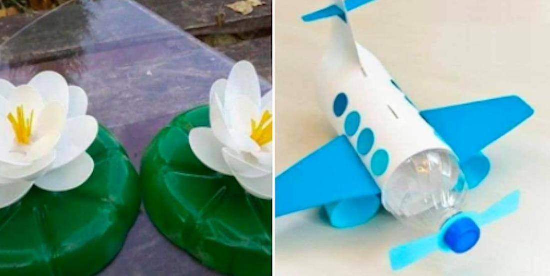 15 bricolages originaux, avec des bouteilles de plastique