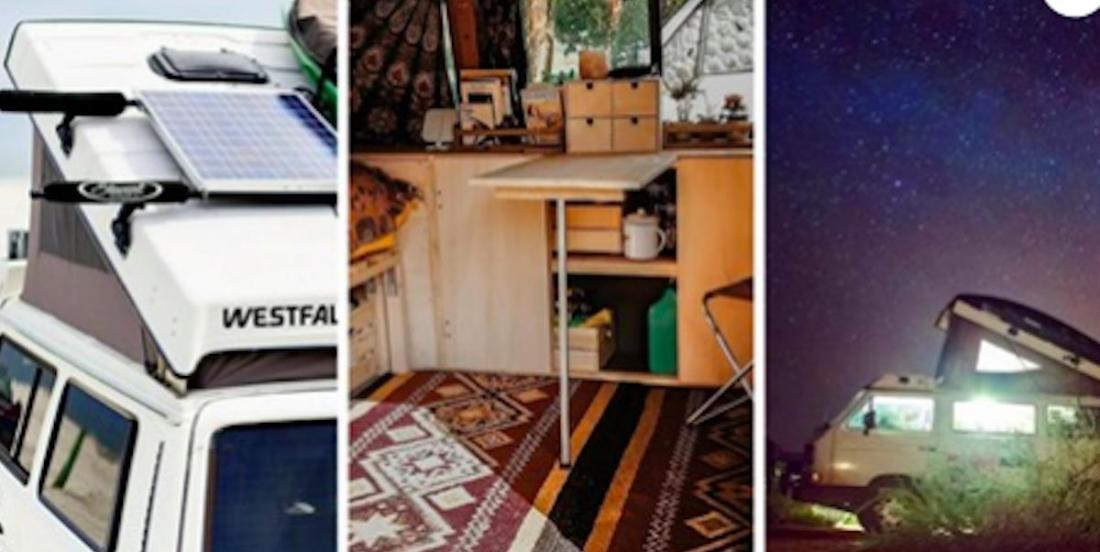 17 idées pour aménager une mini-van