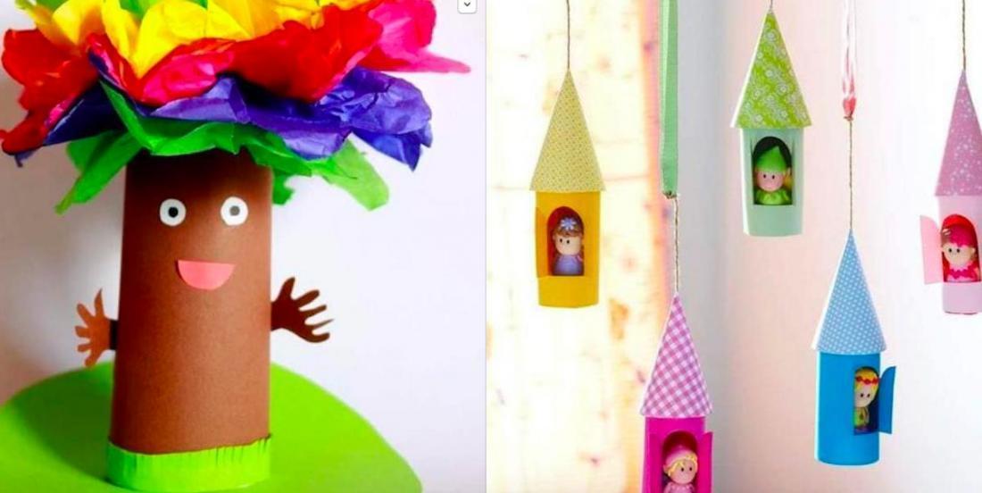 27 fabuleux bricolages à faire avec les classiques rouleaux de papier de toilette