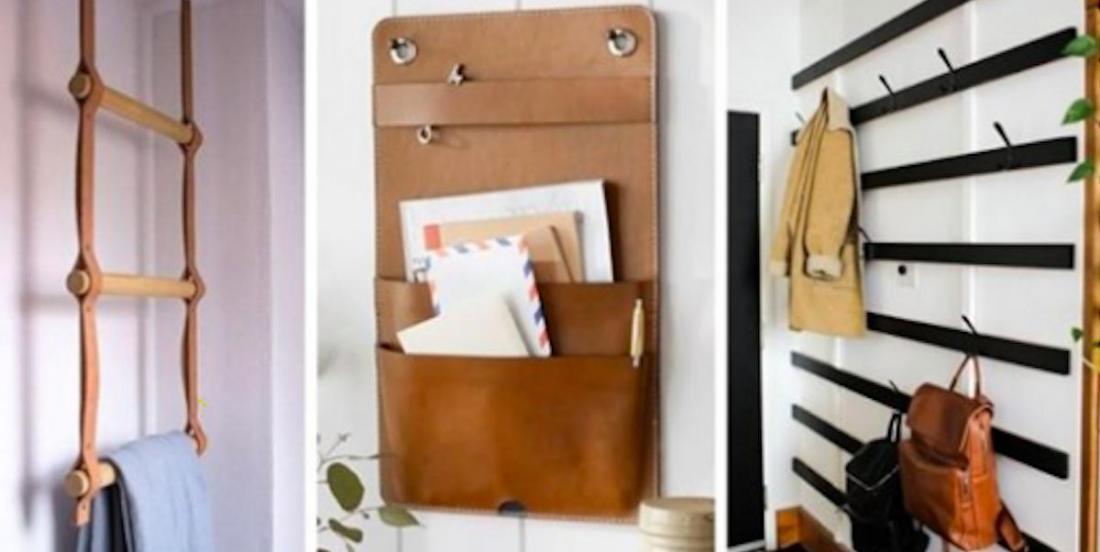 9 idées design pour ranger des choses sur les murs