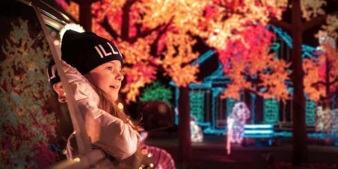 Le parcours Illumi fait son retour, avant Halloween cette année!