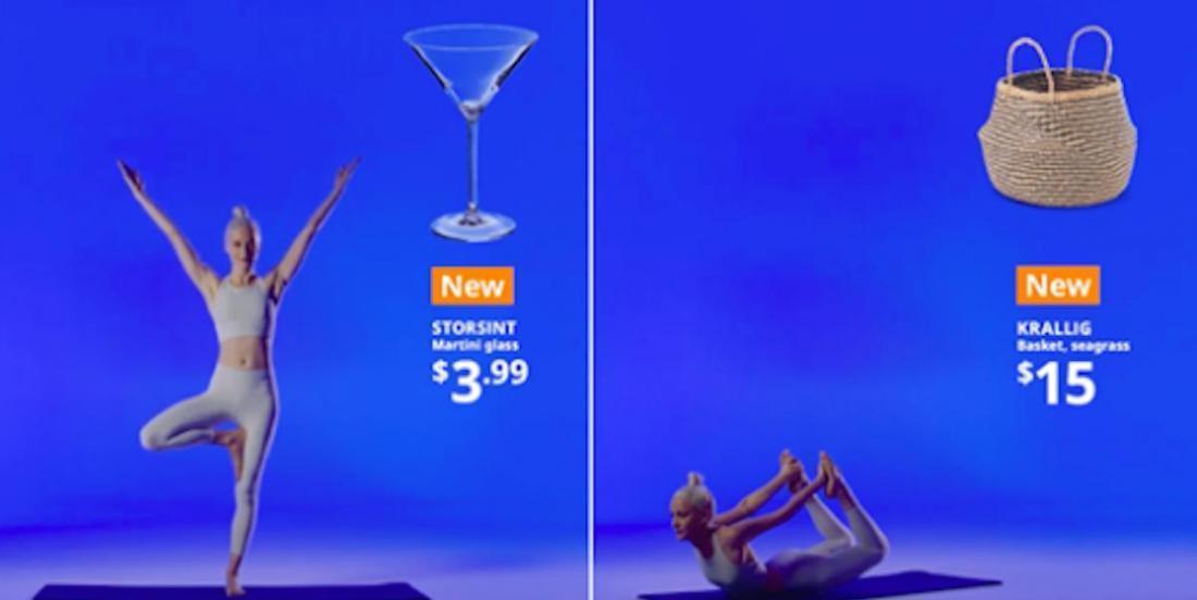 Que diriez-vous de pratique le «yoga IKEA»?