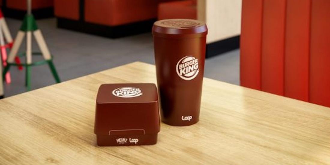 Burger King adoptera des contenants réutilisables en 2021 dans certains pays