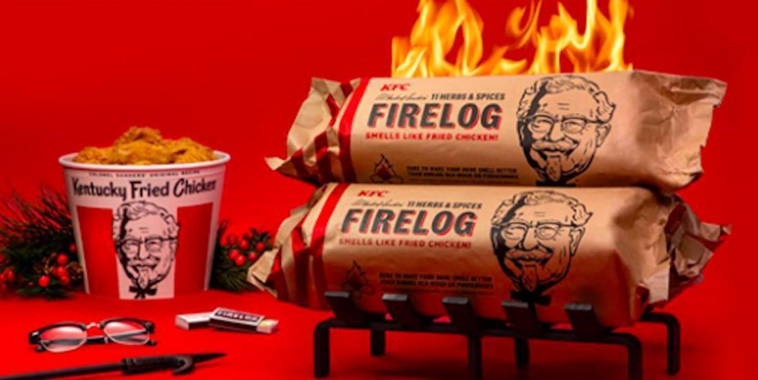 Pour les Fêtes, PFK sort des bûches au parfum de poulet frit!