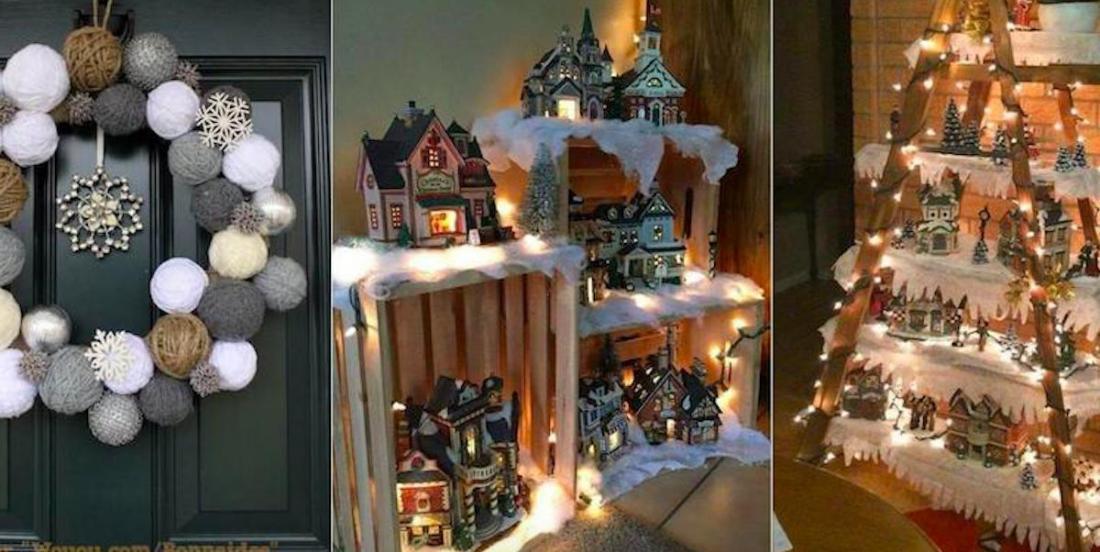 31 décorations de Noël à réaliser soi-même