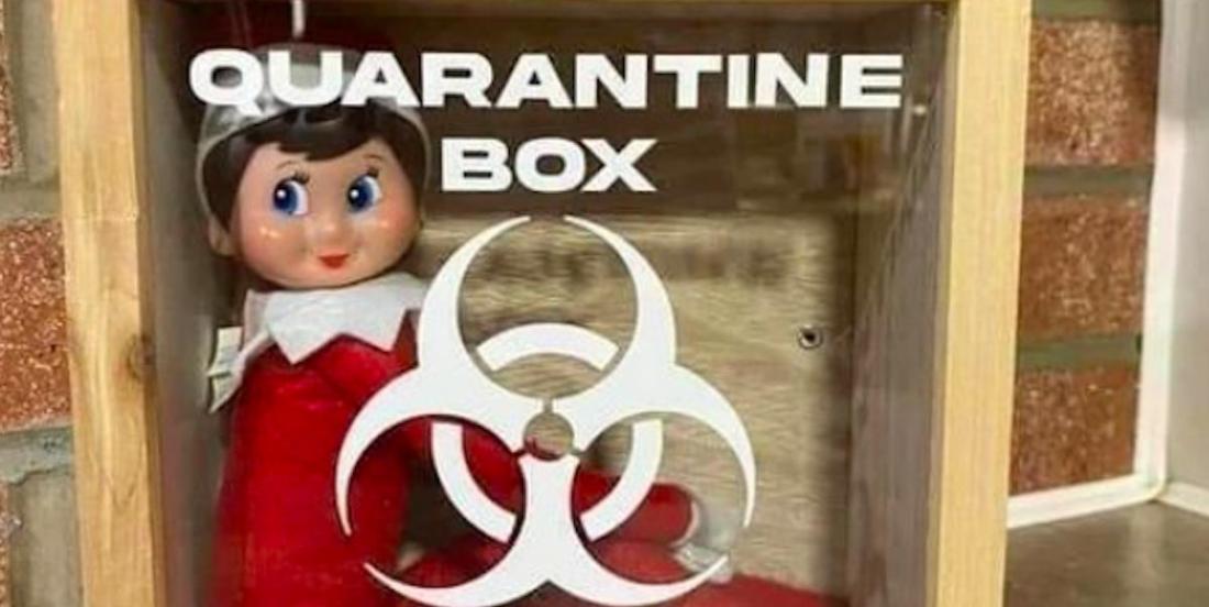Une nouveauté pour les lutins de Noël en 2020: une cellule de quarantaine!