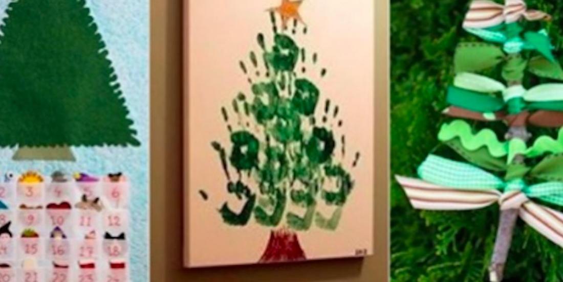 24 propositions de bricolages de Noël à faire avec les enfants