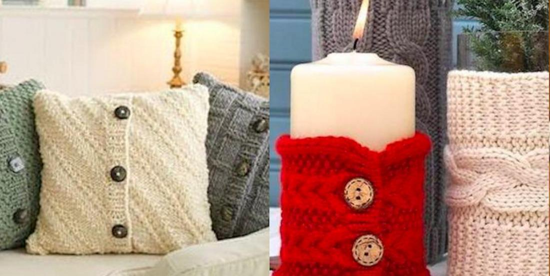 8 inspirations pour recycler vos vieux chandails de laine