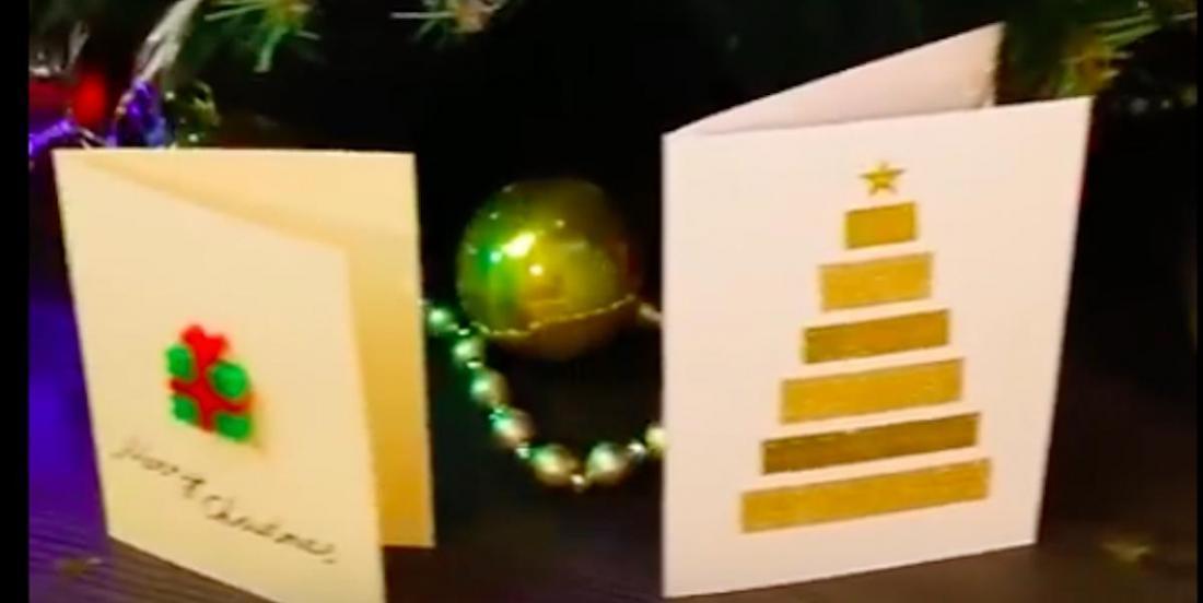 15 cartes de Noël à fabriquer soi-même