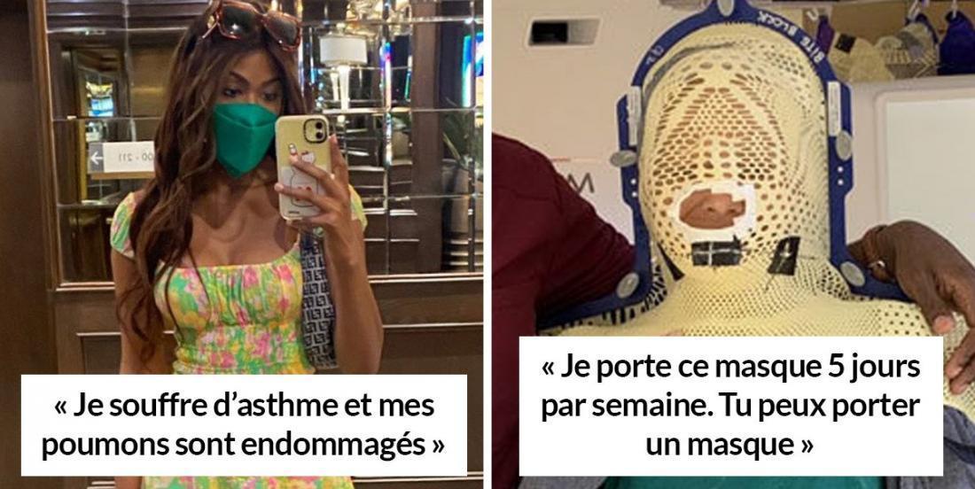 COVID-19: Des internautes répliquent à ceux qui refusent de porter la masque