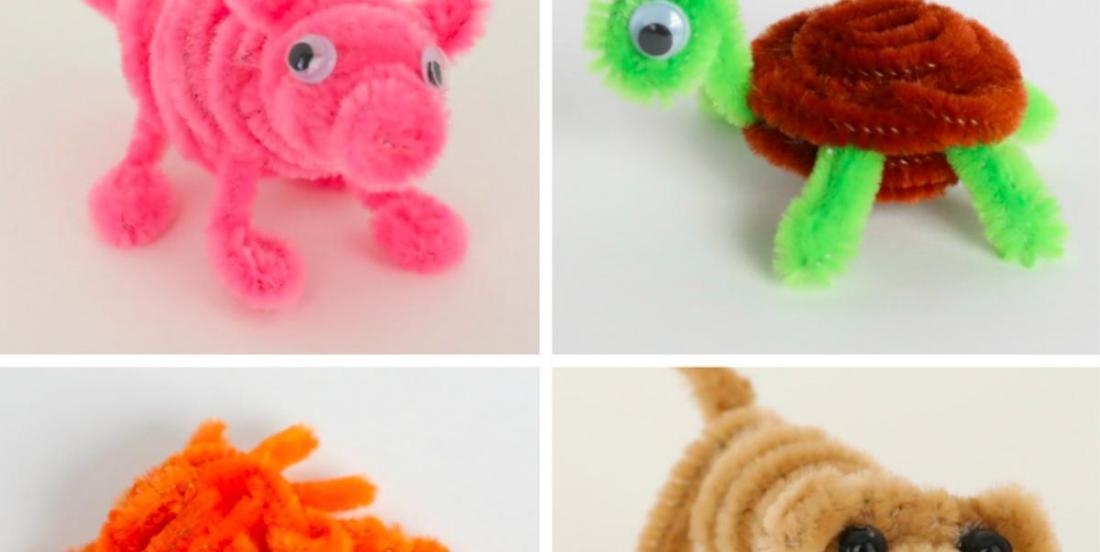 Comment fabriquer 21 animaux avec des cure-pipes