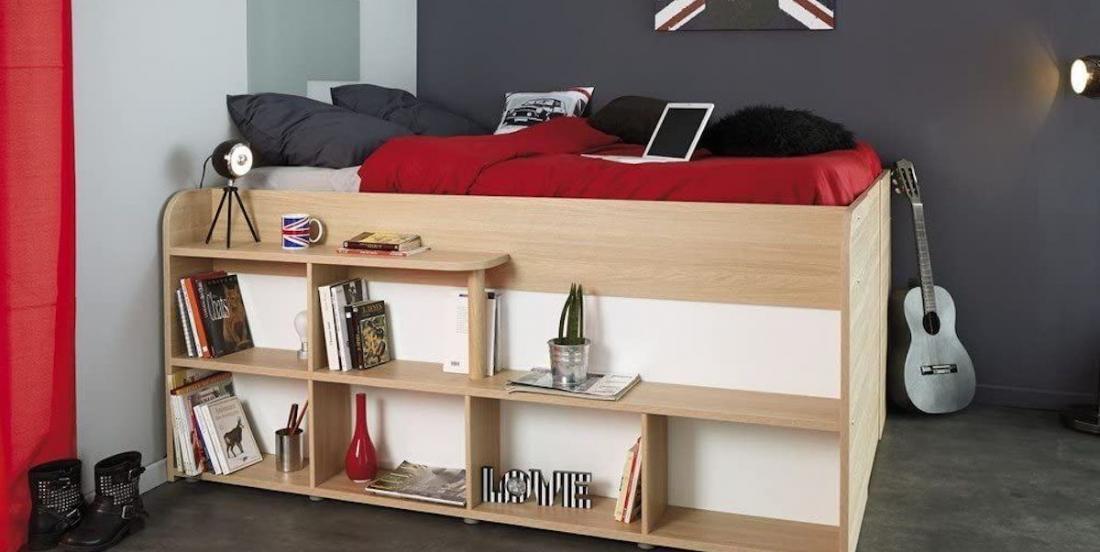 Voici le lit parfait pour les amoureux de l'ordre, surtout dans un petit espace