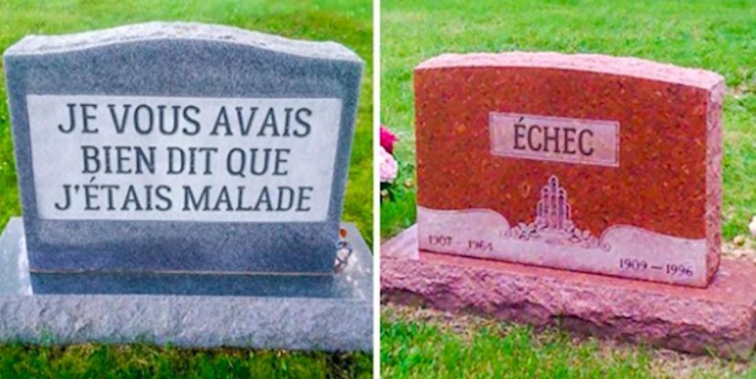 20 personnes qui ont gardé leur sens de l'humour jusque dans la tombe!