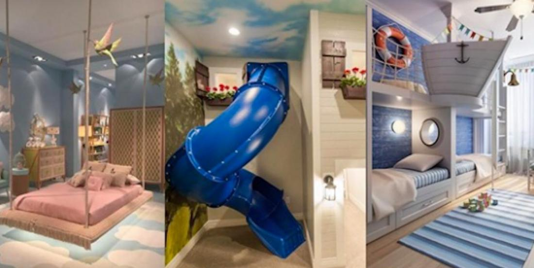 20 aménagements de chambres d'enfants qui sortent vraiment de l'ordinaire