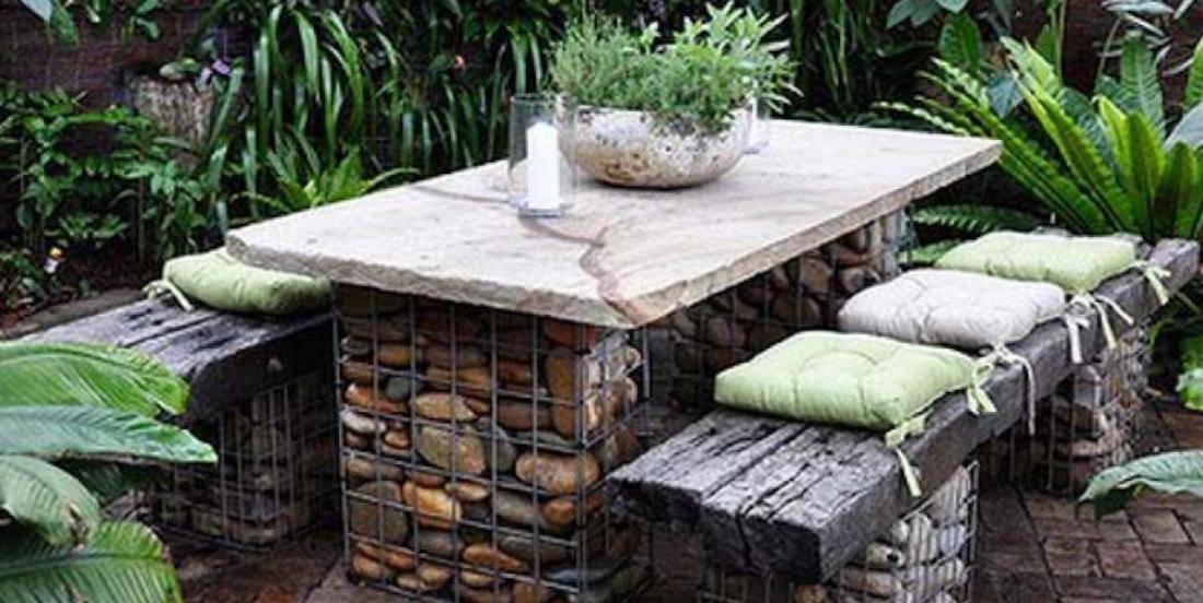 15 façons d'intégrer les cailloux et les pierres à votre décor extérieur