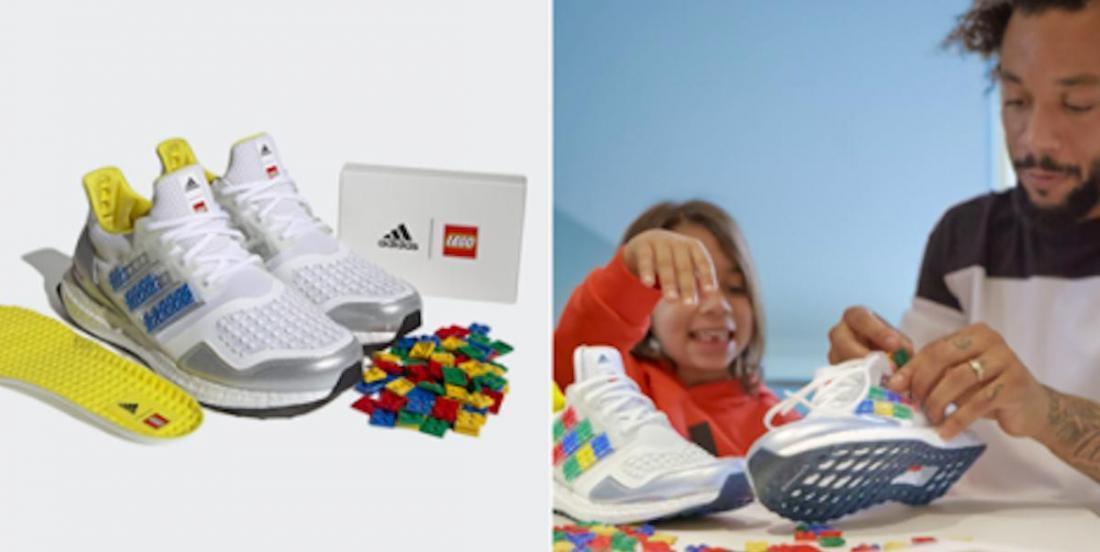 LEGO et Adidas se sont associés pour créer des sneakers à personnaliser