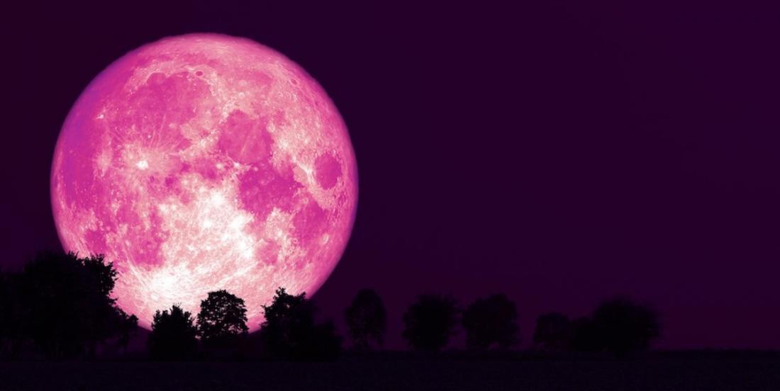 Dans la nuit du 26 au 27 avril, on pourra admirer une super lune rose