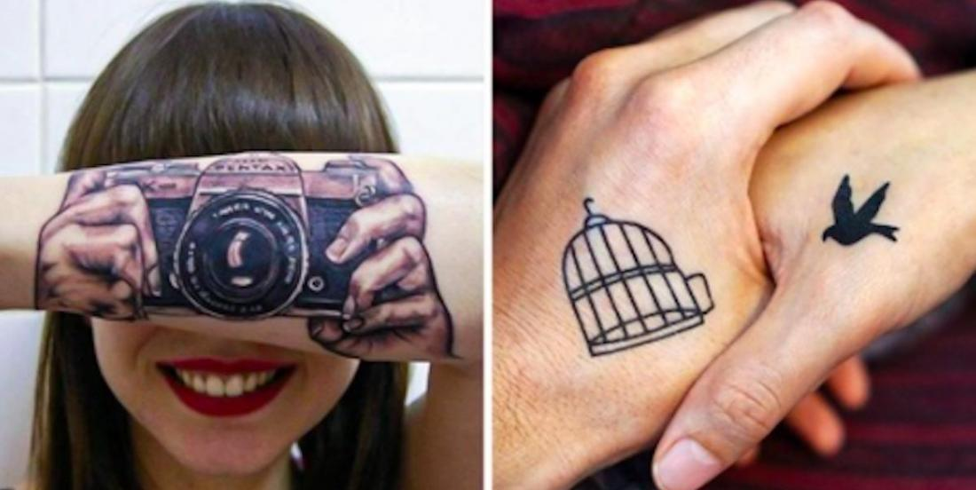 18 personnes qui ont eu des idées originales pour leurs tatouages