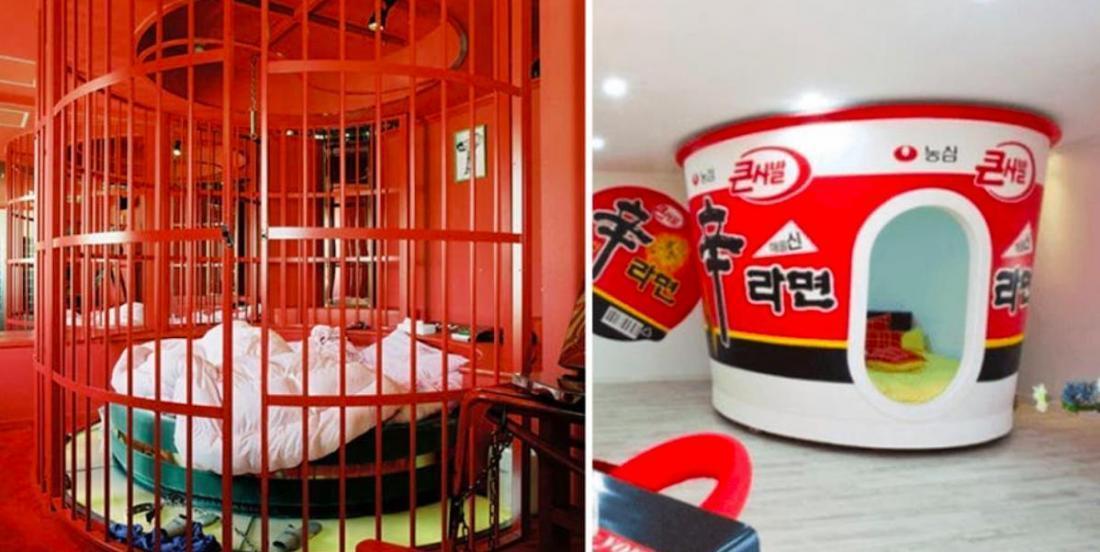 10 chambres d'hôtels aux décors fous
