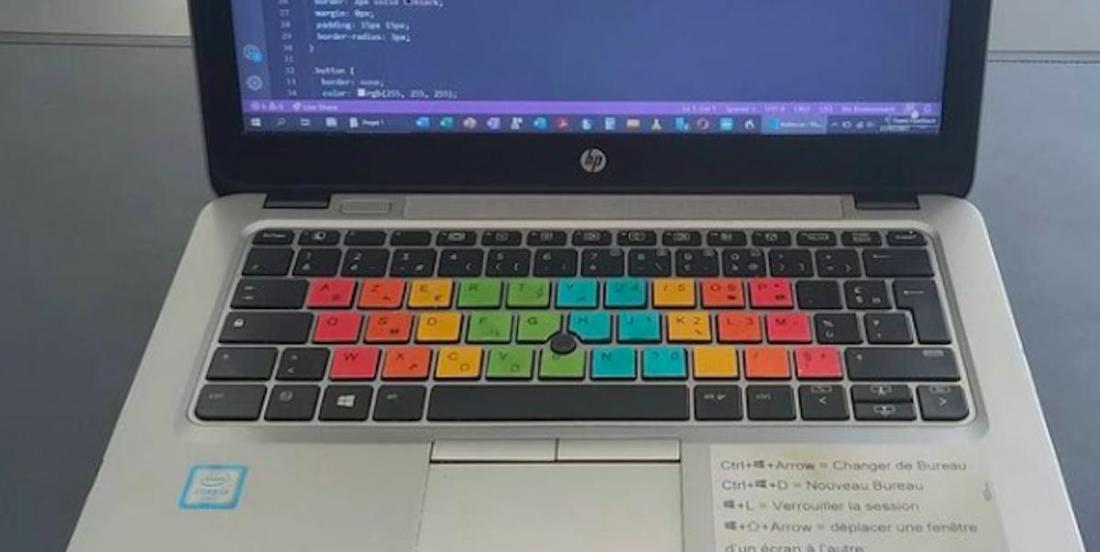 Un jeune Breton a inventé un accessoire de clavier pour les élèves dyslexiques et dyspraxiques