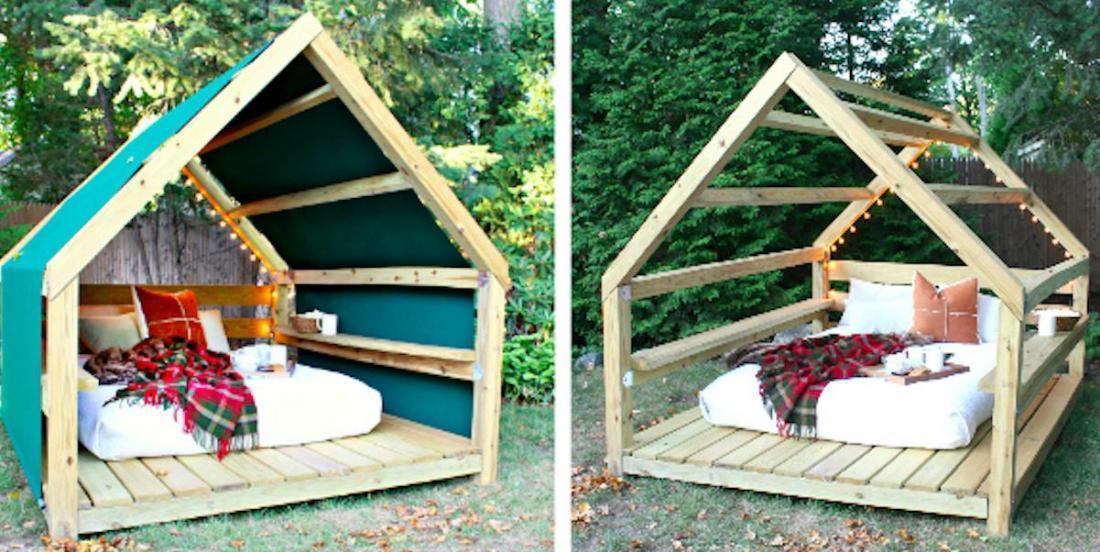 Voyez comment vous construire votre petit salon personnel pour profiter de l'été