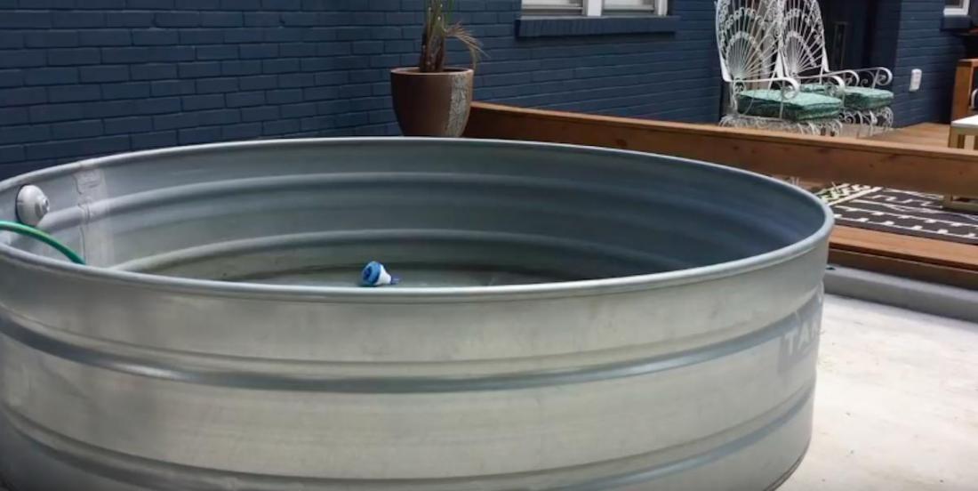 Comment un simple réservoir de stockage peut devenir la vedette de votre été
